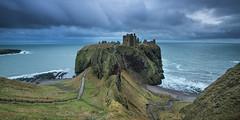 'Doom Laden' - Dunnottar Castle, Scotland (Gavin Hardcastle - Fototripper) Tags: sea seascape storm castle clouds coast scotland waves north scottish aberdeen doom coastline dunnottar stonehaven seastacks