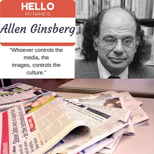 Allen Ginsberg Quotation by Wesley Fryer, on Flickr