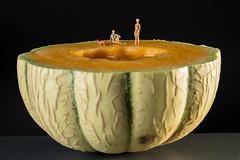 Le bain du melon (Pierre-Francois VALCK) Tags: soleil bain melon plage bronzer maillot baignade bronzette baigneuses