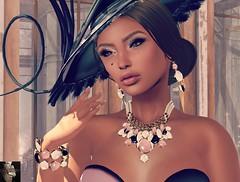 Clouds of Athena (Miss Scarlet Lenoirre) Tags: fashion photography blog model modeling digitalart models blogger blogs sl secondlife virtual bloggers blogging fashionista tableauvivant ladieswholunch purplemoon chopzuey scarletlenoirre