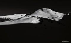 Light and shadow (Sougata2013) Tags: winter bw india mountain snow nature landscape hill mandi lightandshadow himachalpradesh nikond3200 prasharlake