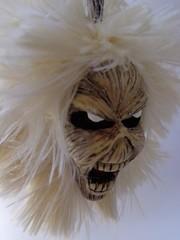 Eddie chaveiro (Patricia Candy) Tags: biscuit eddie ironmaiden cabea chaveiro porcelanafria
