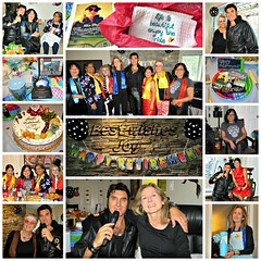 Halloween Retirement  2015 (supe2009) Tags: friends party halloween beautiful leather cake asian skeleton fun witch smiles elvis apron chef rocker hippie bandit teacup songs outfits retirement gettogether laughs 2015 ronniescott burnabybc blackleatherjacket blackleatherpants lifeisbeautifulenjoytheride