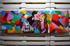 Lobo | Pop Art (Lobo - Pop Art) Tags: dog brasil riodejaneiro painting artwork canvas popart pintura artebrasileira artistaplastico artistabrasileiro lobopopart artistalobo loboartist
