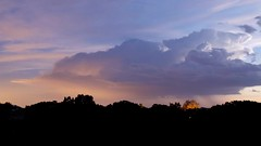 Colorful Night Thunderstorm (northern_nights) Tags: lightning clouds thunderstorm timelapse santafe newmexico