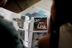 Retour sur le pass (WacsiM) Tags: blur canon eos 50mm souvenirs back photographie photos bokeh memories bretagne 35 past printed flou retour pass illeetvilaine 550d imprims thourie