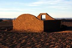 Sahara hut (orangebrompton) Tags: sahara sand desert morocco mhamid
