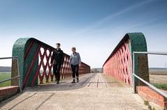 CASTLETHORPE BRIDGE, RIVER ANCHOLME, N LINCS_DSC_8068_LR.2.0 (Roger Perriss) Tags: river bridges d750 railing walkers girders ancholme castlethorpebridge