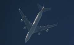 TF-AMU (Rob390029) Tags: blue atlanta sky plane high top aircraft aviation air over jet cargo underside boeing overhead 747 ott freighter icelandic saudia overflight tfamu