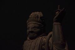 /Bishamonten (deyansu) Tags: wood statue budda