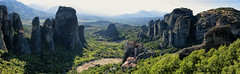 Kastraki (nickriviera73) Tags: travel panorama europe pentax wide greece meteora kastraki k20d