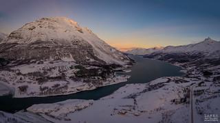 Ullsfjorden Aerial