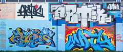Artic(by:Maty en GetonE) Zaone(by:Zots) Artic (by:Getone)  Maty  2014 ([ Maty ]) Tags: birthday panorama abstract abandoned train painting subway graffiti photo mural montana paint character kunst style streetlife oldschool spray urbanart crime chrome crew vandal illegal vandalism mtn writer hiphop graff piece aerosol jam burner tagging artic joiner traingraffiti throwup trackside wildstyle sprayart 2014 newschool wholecar subwayart joiners handstyle maty saone zots windowdown grahicdesign toptobottom pentl mtn94 chromegraffiti graffitijoiners