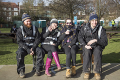 Katie Danni and the Massive crew on a well earned break (Adnams) Tags: beer theboatrace ghostship 2016 adnams furnivallgardens thebnymellonboatraces