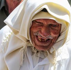Will I see peace in the region in my life time? (ybiberman) Tags: portrait man israel candid teeth jerusalem streetphotography ramadan muslimquarter alquds fridayprayer kaffia