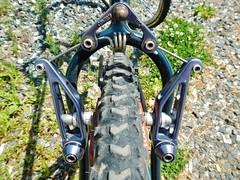 Control Tech Single Spring Brake (guidedbybicycle) Tags: mountain classic bike vintage control tech retro mtb brake atb cantilever