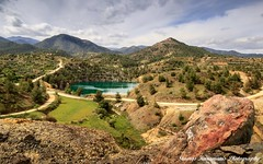 Cyprus country landscape. (stavros karamanis) Tags: trees sky mountain lake clouds canon landscape spring outdoor hill ngc cyprus tokina mountainside dslr f28 lakeforest t3i lakescapes nicosia canonphotography canonusers leefilters depthfield 1116mm dxii
