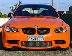 Menacing Look (LeoMuse747) Tags: auto camera brazil orange color cars face car brasil germany lens fire nikon automobile head engine automotive exotic german stunning bmw to 1855mm nikkor dslr m3 asphalt coupe vr autodromo bimmer on automotor e92 d5100 brasilemimagens leomuse747