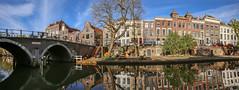 Utrecht, Oudegracht (JoCo Knoop) Tags: panorama utrecht photomerge oudegracht