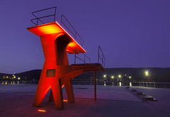 Esplanade et plongeoir (Thierry Sollerot) Tags: esplanade vernon jeanclaude aphe