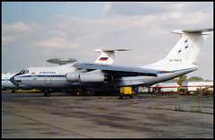 RA-76672 - Moscow Zhukovsky (ZHU) 17.08.2001 (Jakob_DK) Tags: 2001 zia uubw moscow moscowzhukovsky ilyushin ilyushin76 ilyushin76td il76 il76td candid cargo ase airstars aerostars aviakompanyaerostar