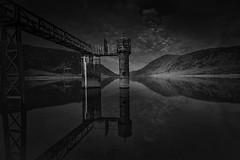 Llyn Colwyd Reservoir (mwng99) Tags: park mountain lake reflection water pen mono long exposure fuji y reservoir national nd fujifilm dwr snowdonia grad parc hitech eryri 1024 capel llyn xf curig formatt trefriw xt1 10stop wrach colwyd cenedleuthol llithig