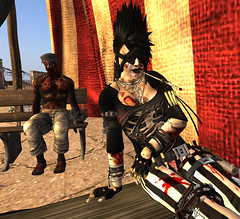 It's Ghoulish Day!18-Masaka (grady.echegaray) Tags: avatar secondlife movies psychedelic zombies yellowsubmarine thebeatles postapocalyptic ghouls digitalfashion redfestival tentrevival virtualfashion