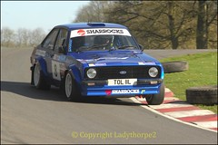 0016_Cadwell Park Stages 2016 (ladythorpe2) Tags: park blue ford car sport alan club self drive james memorial rally border 8 stuart stages april healy mk2 motor 10th rs escort rallye tjs cadwell 2016 sharrock faulds