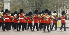 band of the welsh guards 15 04 2016 (3) (philipbisset275) Tags: unitedkingdom victoriamemorial centrallondon cityofwestminster englandgreatbritain bandofthewelshguards 15042016