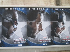 Captain America Civil War Sidewalk Billboard 2016 ADs 8150 (Brechtbug) Tags: world street new york city nyc chris winter two 3 america ads movie subway poster soldier book three evans war theater comic sam sebastian theatre near steve entrance super joe ironman tony billboard lobby stan sidewalk v civil ii ave captain hero falcon anthony billboards wilson shield vs rogers marvel stark 7th barnes bucky russo the 2016 36th standee 04142016