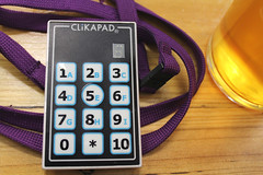Keypad for electronic voting at the consultation meeting (selcamra) Tags: beer camra realale shapingthefuture selcamra revitalisationproject