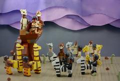 LEGO The Lion King Theatre Scene (AzureBrick) Tags: west theater king lego theatre lion scene musical end the