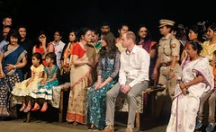 The Duke & Duchess of Cambridge in Assam