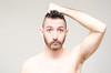 (Damien Cox) Tags: uk portrait selfportrait man male me face self ego myself beard eyes nikon arm masculine ears moi messyhair newhair autorretrato scruff stubble i damiencox damiencoxcouk
