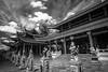 Sam Poo Kong (Henry Sudarman) Tags: blackandwhite bw indonesia ir temple samsung places traveling semarang 1220 samyang hitamputih sampookong samsungnx nx10