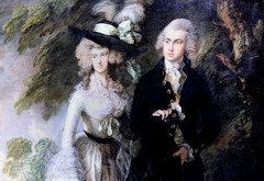 IMG_1557C Thomas Gainsborough. 1727-1788; Londres.  Mr and Mrs William Hallett. (The Morning Walk)  1785. Londres National Gallery. (jean louis mazieres) Tags: greatbritain london museum painting unitedkingdom muse londres museo peintures gainsborough peintres grandebretagne nationalgallerythomas