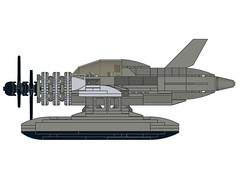 D4CRazortail003 (Dragonov Brick Works) Tags: lego aircraft snot ldraw studless miniscale
