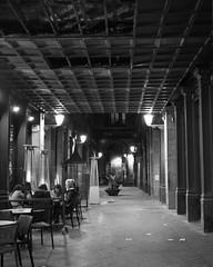 Cafe (Photoz Darkly) Tags: barcelona blackandwhite bw monochrome blackwhite spain espana