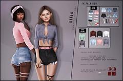 KITJA - Rachel Outfit (ᴋɪᴛᴊᴀ) Tags: fashion 3d secondlife uber maitreya slink meshbody kitja fittedmesh slinkphysique maitreyalara slinkhourglass