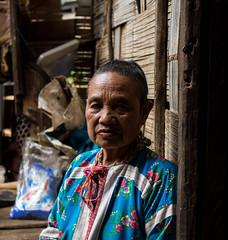 Ageless Look (Santi K-B Photography) Tags: travel family portrait thailand asia grandmother olympus omd hilltribe em1 lahu tribalvillage