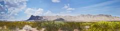 Sierra Diablo Range (ChefeGrande) Tags: mountains silhouette skyline clouds rural texas outdoor sierra devil diablo westtexas chaparral chihuahuandesert culbertsoncounty