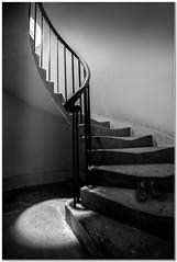 Spotlight (Hugh Stanton) Tags: stairs spiral banister