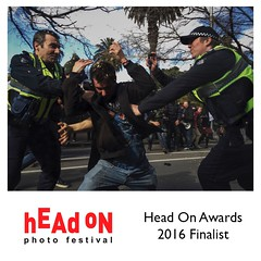 Finalist for third consecutive year, Head On Photo Festival Mobile Prize 2016 Documentary Photojournalism Reportage Streetphotography Streetphoto_color Street Of Melbourne Protest Anti-racism Police Mobilephotography IPhoneography Procamera Vscocam People (Thomas Lim Photography) Tags: protest streetphotography photojournalism documentary police antiracism peoplewatching reportage mobilephotography procamera iphoneography streetofmelbourne headonphotofestival vscocam streetphotocolor