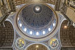Cupola (Fairy_Nuff (new website - piczology.com!)) Tags: italy vatican rome roma saint st san basilica main cupola dome peters pietro