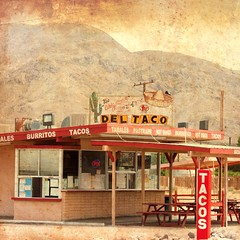 The Original Site of the First Del Taco for Clearlight (Thomas Hawk) Tags: california usa restaurant unitedstates desert unitedstatesofamerica deltaco sanbernardinocounty fav10 yermo fav25