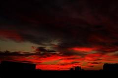 DSCF0712 (didbo69) Tags: sunset sky sun clouds sunrise rising sunny redsky fiery fier redclouds fierysky flamy