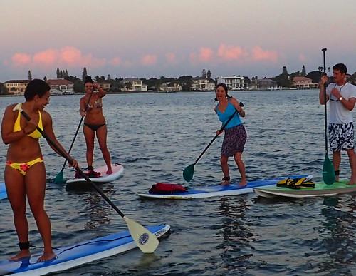 12_28_15 paddleboard tour Lido Key Sarasota FL   12