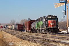 KYLE 9362 Limon 1 Jan 16 (AK Ween) Tags: railroad train colorado limon rockisland southernpacific espee emd sd45t2 kylerailroad kyle9362
