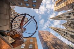 heavy load. (McRalf) Tags: newyork statue rockefellercenter atlas fifthavenue