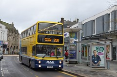 Different view of Yellow (@ tb 2018) Tags: dumbarton dublinbus alx400 mccollscoaches av108 x471vrl